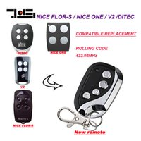 Wholesale Lock Pick Sets Cheap - 433MHZ Nice ONE, Nice FLOR-S remote duplicator TOP quality with cheap price