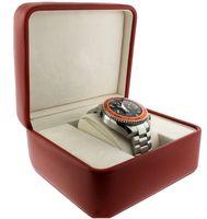 caixa de relógio do planeta oceano venda por atacado-Frete grátis dos homens do Planeta Oceano laranja Bezel Quartz Sports Watch 232.30.46.51.01.002 relógios de Pulso dos homens de Aço inoxidável Caixa original