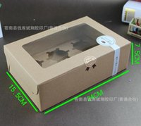 Other packaging corrugated boxes - High grade corrugated window grain moon cake box box of moon cake packaging box of cookies pastry