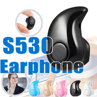 Wholesale Mini Bluetooth Ear For Music - Sport Running S530 Bluetooth Headphones V4.1 for iPhone Samsung S8 edge S7 LG Mini Music Stereo Headset with Mic Earphone