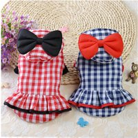 Wholesale new puppy skirts for sale - Dog jackets for winter Coat Skirt Puppy Pet Sport Hoodies Costume dogs Hoodies skirts Dress with lovely bowknot