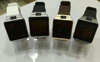 sim für gps tracker großhandel-DZ09 Smart Uhr GT08 U8 A1 Wrisbrand Android Smart SIM Intelligente Handy-Uhr kann die Schlafzustand Smart Watch aufzeichnen
