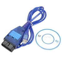 Wholesale Fiat Ecu - KKL V409 For Fiat VAG KKL USB Ecu Car Scan Tool for fiat Drivers for Windows XP, 98, ME, 2000, Vista + Windows 7