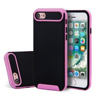 Wholesale Iphone Designed Cases Cheap - Cheap phone cases accessories Hybrid Armor Case tou pc 2 in 1 Design with best quality Mobile covers