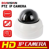 Wholesale Manual Focus Cctv Lens - PTZ IP Camera 1080P HD Security CCTV Camera Dome Indoor IR 15M 2.8-8mm Auto-Focus Manual Varifocal 3x Zoom Lens