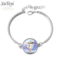 Wholesale New Fashion Mary Mother of Baby bracelet Jesus Christ Catholic bracelet Jewelry Glass bracelet Vintage jewelry