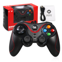 Terios T3 Wireless Bluetooth Gamepad Joystick Game Gaming Controller Controle remoto para Samsung S6 S7 HTC Android Smart Table Tablet TV Box