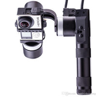 Wholesale Rotational Axis - Evolution 3-Axis Speed Handheld Gimbal PC Metal Stepless Rotational Stabilizer with 18650 Li-Po Battery for RC Aircraft
