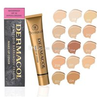 1 black skin types - 13 Colors Black Gold Dermacol Base Make up Cover g Primer Concealer Base Professional Face Dermacol Makeup Foundation Contour Palette