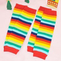 Wholesale Toddler Dotted Leggings Tights - New Toddler Kids leggings Tights For Baby Girls Leg Warmer Socks ankle socks Striped Dots Pure Cotton Girl Christmas Gifts Legging
