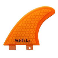 fiberglass honey comb orange surfboards - srfda Orange FCS G5 surf fins surfboard fins fcs fiberglass with Top quality M size