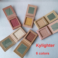 Wholesale Cosmetic Whitening Kit - Hot Kylie Jenner Kylighter glow kit & 6 colors highlighters Kylie cosmetics,in stock,good quality, shipping within 24 hours free shipping