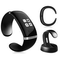 Wholesale Smart Wristband OLED Bluetooth Bracelet Wrist Watch Fitness tracker Bluetooth Call Sync Watch Smartwatch For iPhone samsung