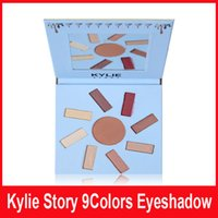 Wholesale Best Story - Kylie Story 9 Colors Eyeshadow Join The Color Revolution 10 case Eye Shadow eyeshadow best quality