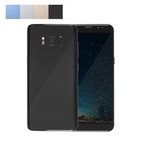 Wholesale Smartphone Metal Body - Goophone S8 5.5 inch Android Smartphone MTK6580 Quad Core 1GB RAM 8GB ROM Metal Body Unlocked Mobile Phone