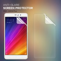 Wholesale Nillkin Screen Protector Wholesale - 2 pcs lot screen protector for Xiaomi Mi5s Plus NILLKIN Anti-Glare Matte protective film for Xiaomi Mi5s Plus with retailed package