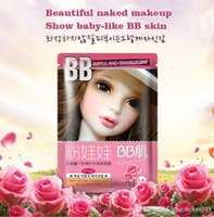 Wholesale Acne Babies - Rose water moisturizing Oil skin face mask hydrating soothes Brighten beauty Baby skin care cleansing pore facial mask treatment DHL
