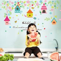 Wholesale Mix Order Nursery - Mix Order Wholesale Removable Wall Stickers Home Decals Kids Room Wall Stickers Nursery Wall Decor 50x70cm