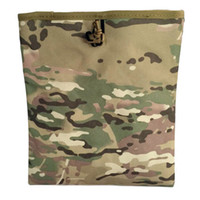Wholesale Tactical Mag Dump Pouch Airsoft Paintball Recovery Molle magazine Pouch Hunting Slingshot Ammo Bags