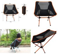 Wholesale Beach Camping Folding Chair - Outdoor chair Ultra Light Folding Fishing Chair Seat for Outdoor Camping Leisure Picnic Beach Chair Other Fishing Tools M723