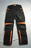 Wholesale Pants Ktm - Wholesale-New 2017 style For KTM motorcycle body pants Racing motor bike motocicleta moto pant motocross nice black orange