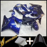 Wholesale Zzr Fairing Dark Green - ABS Fairing for Kawasaki ZZR1200 02 05 Aftermarket Plastic ZZR 1200 2002-2005 02 03 04 05 blue Motorcycle Body Kit