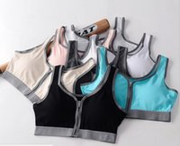 Wholesale Lady Cotton Underwear - Summer Lady 's Shock Anti - Shot Sports Brass Cotton Underwear Yoga Clothing Slimming