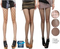 Wholesale Nude Tights - DHL Socks Nude Black Women Lady Fishnet Net Pattern Burlesque Hoise Pantyhose Tights