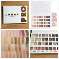 Wholesale In stock Lorac Mega Pro Palette Limited Edition Eyeshadow Palette Shades Vs Shimmer Matte Eye Shadow Palette