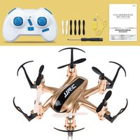 Wholesale golden motor - Wholesale- JJRC H20 2.4G 4 Channel 6-Axis Gyro Nano Hexacopter with CF Mode Return RC Quadcopters Min Drone Golden