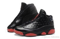 Wholesale Flat Feet Basketball - Sport Sneakers Air Retro 13 Infrared 23 Black Mens Basketball Shoes Sports Retros 13 Foot Locker Athletic Shoes Size 7-13 With Box