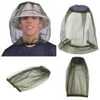 Купить Сетевые Шлемы-Midge Mosquito Insect Hat Bug Mesh Head Net Face Protector Travel Camping