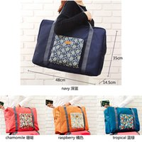 Wholesale Multifunction Cloth Organizer - Foldable Storage Bags Space Saving Polyester Cloth Multifunction Trolley Case Travel Packet Housekeeping Organizer