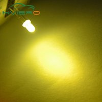 Wholesale Wholesale Diffused Led Light Bulbs - Wholesale- Wholesale 100pcs Warm white 3mm Round Diffused 2pin Light-emitting diode LED Bulb Light Free Shipping New