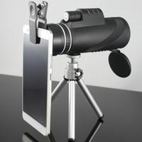 Wholesale Powerful Binoculars - Monocular 40x60 Powerful Binoculars High Quality Zoom Great Handheld Telescope lll night vision Military HD Professional Hunting 30pcs