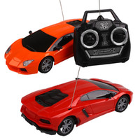 Vente en gros - 1:24 Diecast Drift Speed ​​4CH Radio Control RC Racing Car Truck Toys For Children Gift