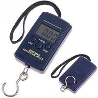 Wholesale Digital Measuring Cup Balance - 1Set Portable Electronic Digital Scale 0.01kg - 40kg Hanging Luggage Weight Balance Steelyard Black 10*5cm
