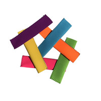 Wholesale Color Block Sleeves - ePacket free shipping 9 Color Neoprene Ice Popsicle Sleeve Pop Holders, Ice Lolly, Ice Block
