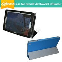 Wholesale 8inch Tablet Covers - Wholesale-New arrival Cover Case For Cube iwork8 ultimate iwork8 air Leather Case For Cube Iwork 8 air 8inch tablet pc free shipping+gift