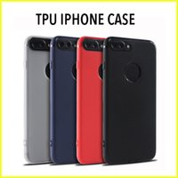 Wholesale Iphone Black Panda - For iPhone7 6s New Panda Eye Dust Plug Frosted Case TPU Protective Soft Case Retail Package Free Shipping