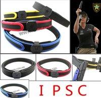 Wholesale Ipsc Special Shooting Belt - Wholesale- IPSC SPECIAL SHOOTING BELT BD2253 Waist Support