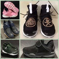 black surgeon - 2017 Sock Dart Mid x Stones Island Men Womens Lace Darts Shoe Surgeon Black White Grey Running Shoes
