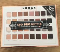 Wholesale Glitter Eye Shadow Set - Retail Limited Edition Cosmetics Lorac Mega Pro 3 Palette Eyeshadow 32 Colors Palette Shimmer Matte Brands Eye Shadow Palette