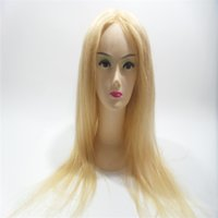 Wholesale Hair Wigs Nature - High Quality Blonde Hair 613# Is Full Of My Wig Shoelaces Without Tail Front Straight Hair Full Lace Wig Silk Weaving Wig Nature Kabell WIGS