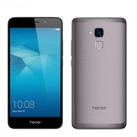Wholesale Huawei Honor 2gb - Original Huawei Honor 5C Play Cell Phone Kirin 650 Octa Core 2GB RAM 16GB ROM Android 6.0 5.2 inch IPS 13MP Fingerprint 4G LTE Mobile Phone