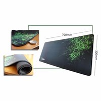 Wholesale X Razer - mousepad Mouse Pad Wrist Rests for Razer Mouse Pad Speed Version 900 x 300 mmGaming Mouse Pad Locked Bag Packing