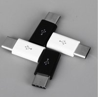 Wholesale Usb Cable Convertor - High quality Micro USB 3.1 Female to Type-C Male Cable Adapter Convertor pocket size ABS Fast Data Sync Transferring Charger Charging