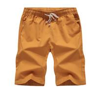 Wholesale Plus Size 28 Khaki - shorts plus size 5XL high quality Summer quick dry mens shorts breathable waist loose toturn 2017 new brand men casual shorts khaki