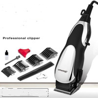 Wholesale electric hair cutters for sale - 220v professional adult pro hair clipper corded cutter w electric babershop hair clipper trimmer baber hair cutting machine
