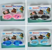 Wholesale Glasses Underwear - New Children Swimming Goggles Underwear Glasses Swim Pool Beach Waterproof Galess For Kids 200 Pcs DHL Free Shipping #YJ02